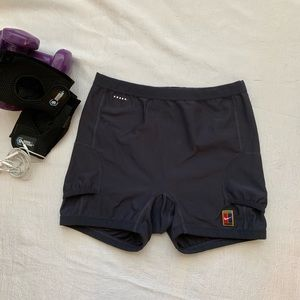 Nike Training Shorts Navy Blue Used